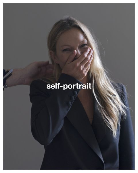 best fashion campaigns  kate moss for self portrait