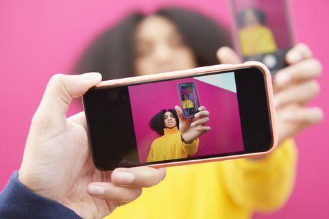 Selfie in a Selfie