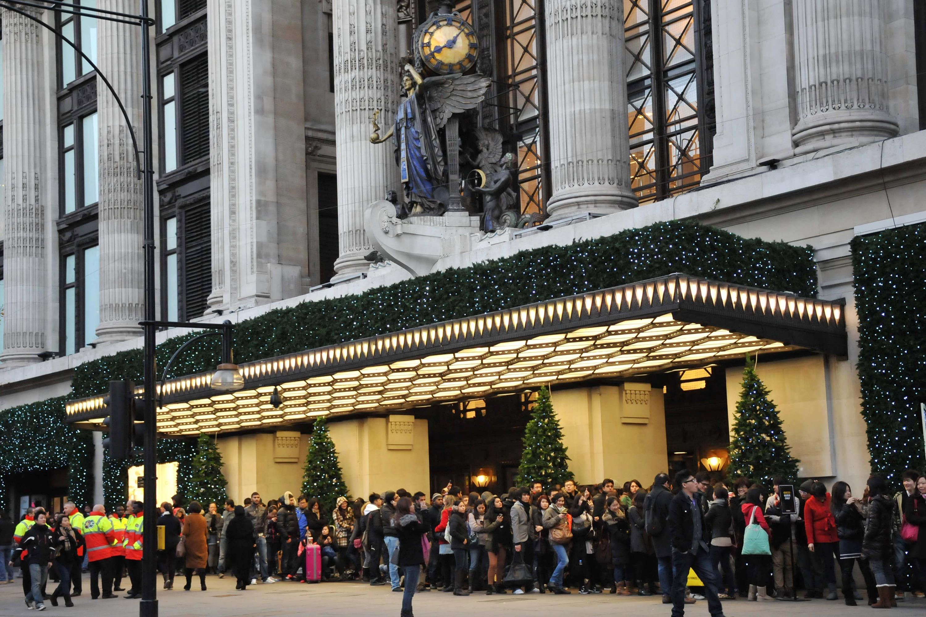 774364c79c61 Selfridges has just opened its Christmas shop 145 days early