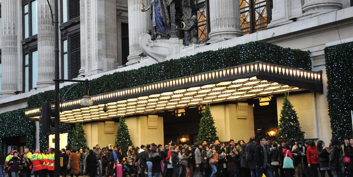 Selfridges has just opened its Christmas shop 145 days early
