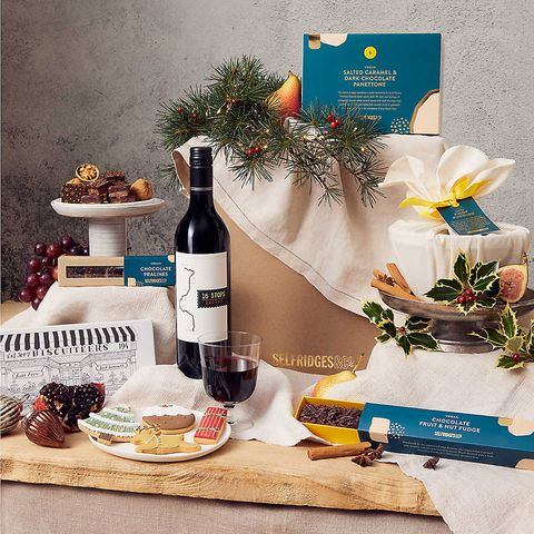 selfridges christmas hamper   best christmas hampers
