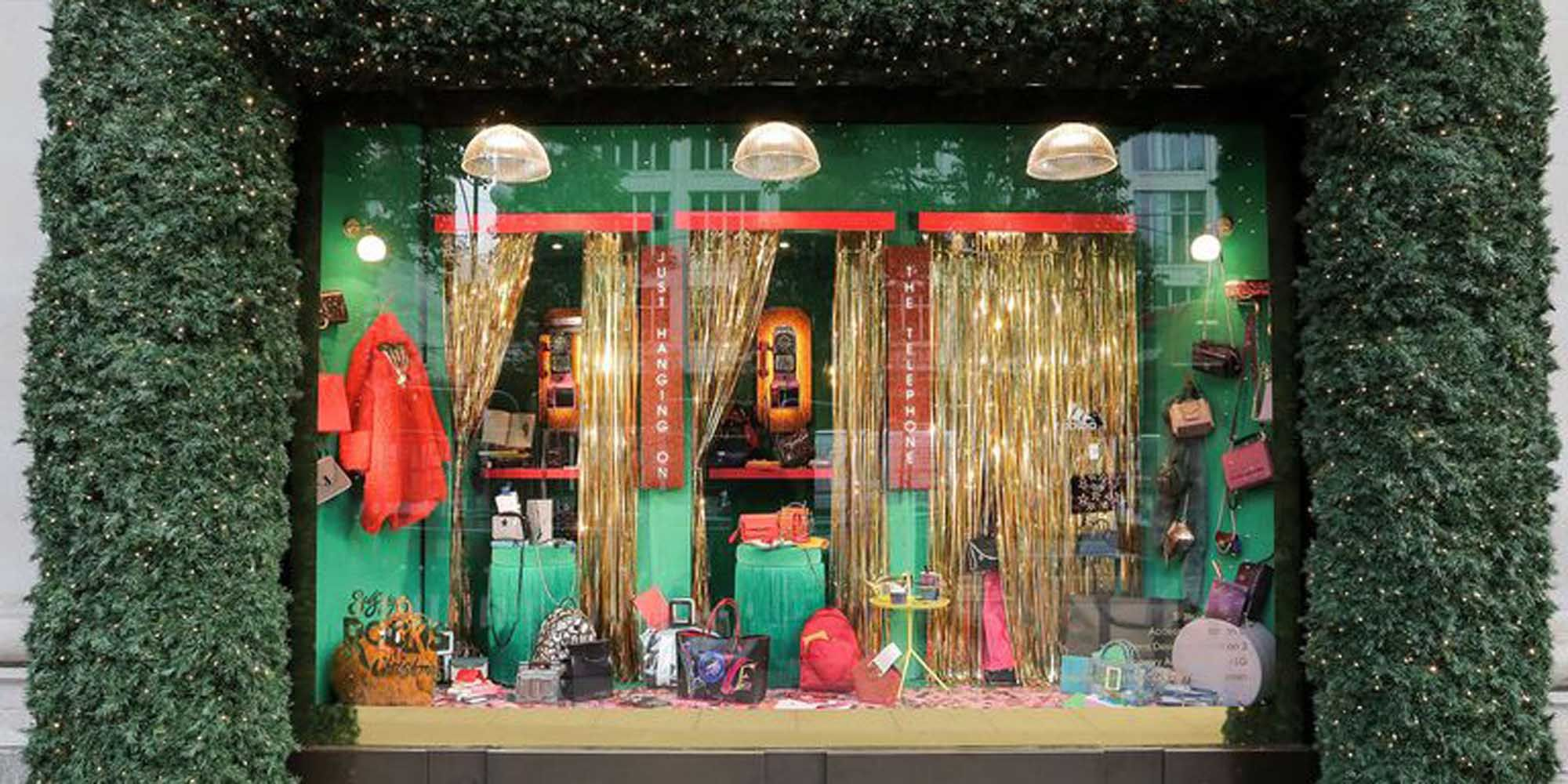 Selfridges, kerstetalage, etalage, kerst, Londen, London