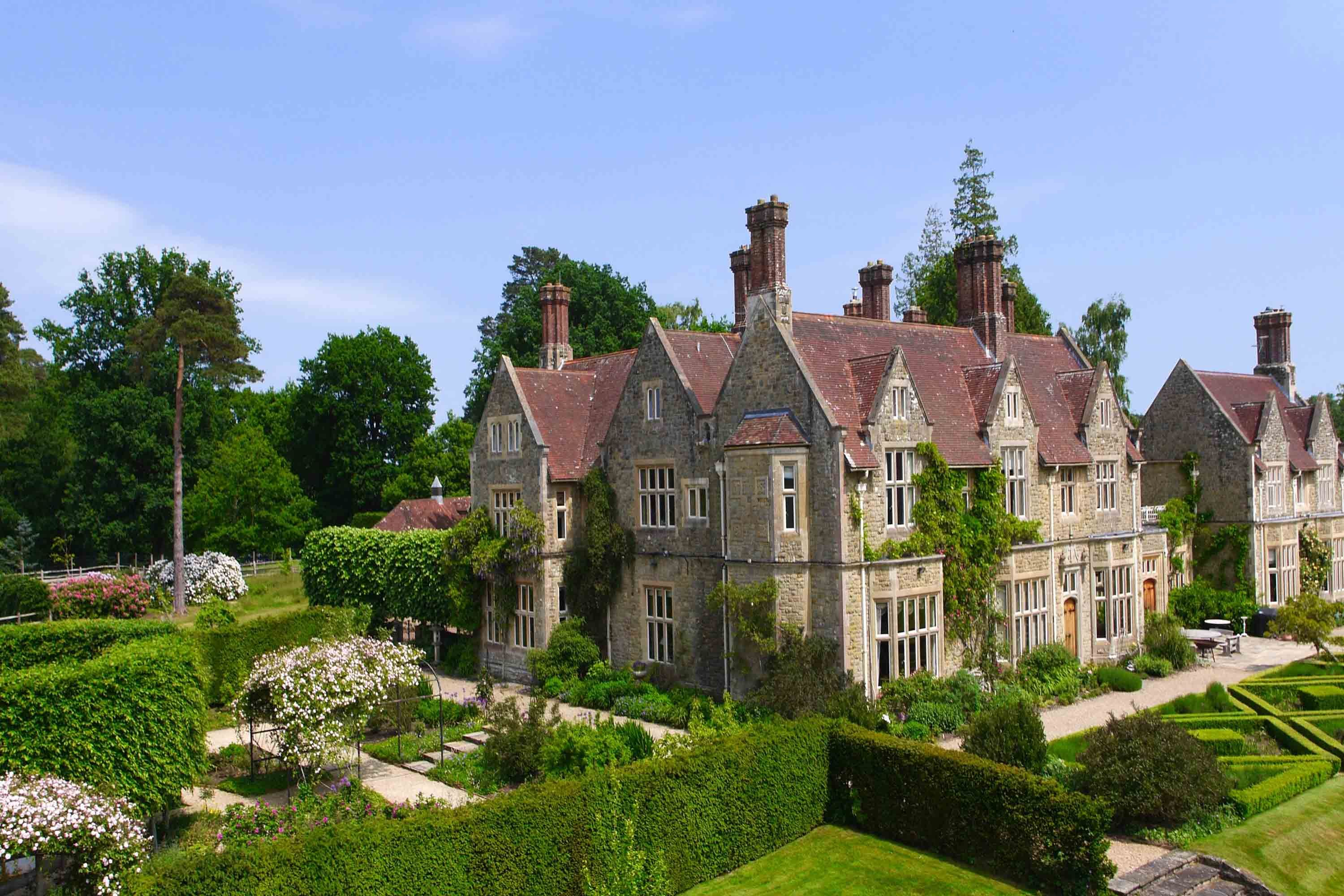 An impressive Sussex manor in the heart of the South Downs