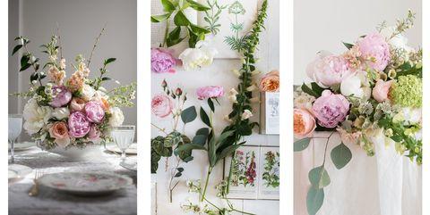6 Pretty Ways To Decorate With Flowers - Easy Flower Arrangement Ideas