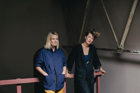 Gayle Noonan and Tatjana von Stein of Sella Concept