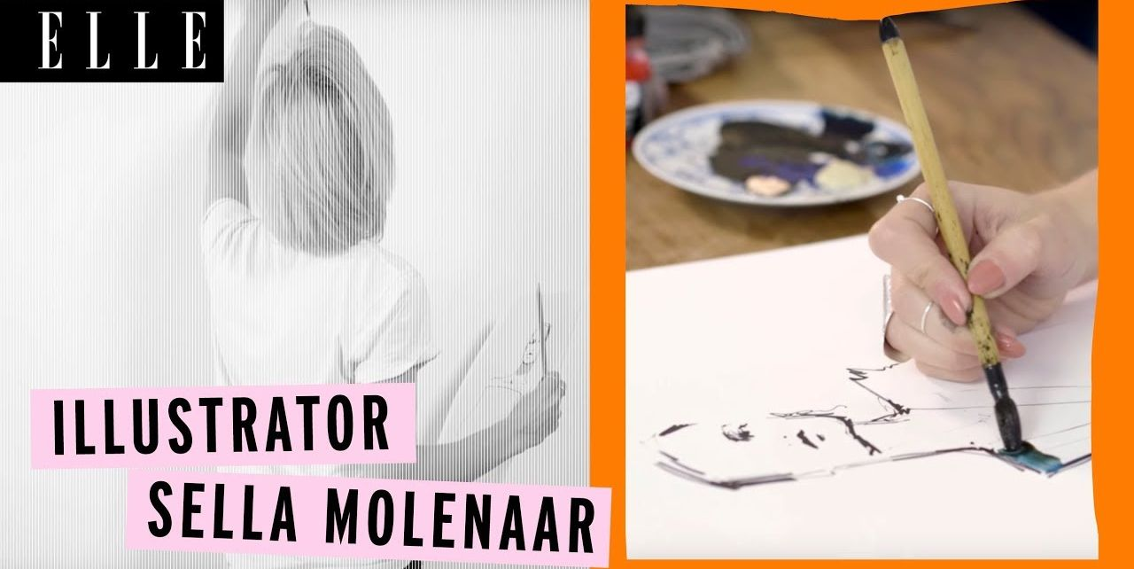 Sella Molenaar voor ELLE