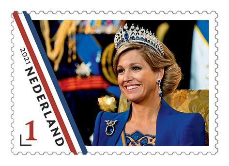 sellos especiales para el 50 cumpleños de la reina de holanda