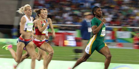 Caster Semenya at the Olympics