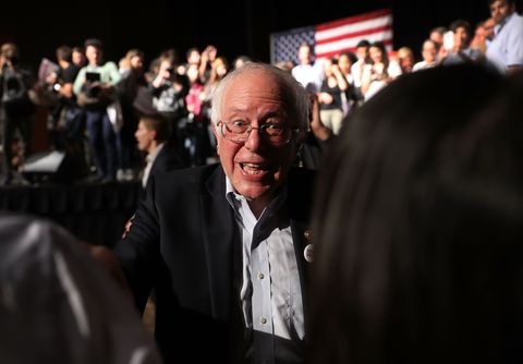 Sen. Bernie Sanders And DNC Chair Tom Perez Hold Rally In Miami