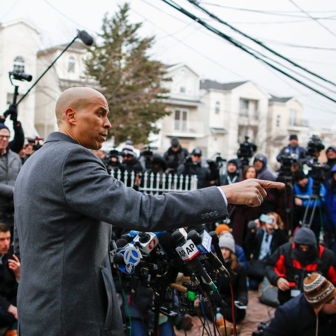 Senator Cory Booker announced his candidacy in New Jersey in Newark, New Jersey in February. He served as the city's mayor from 2006 to 2013.