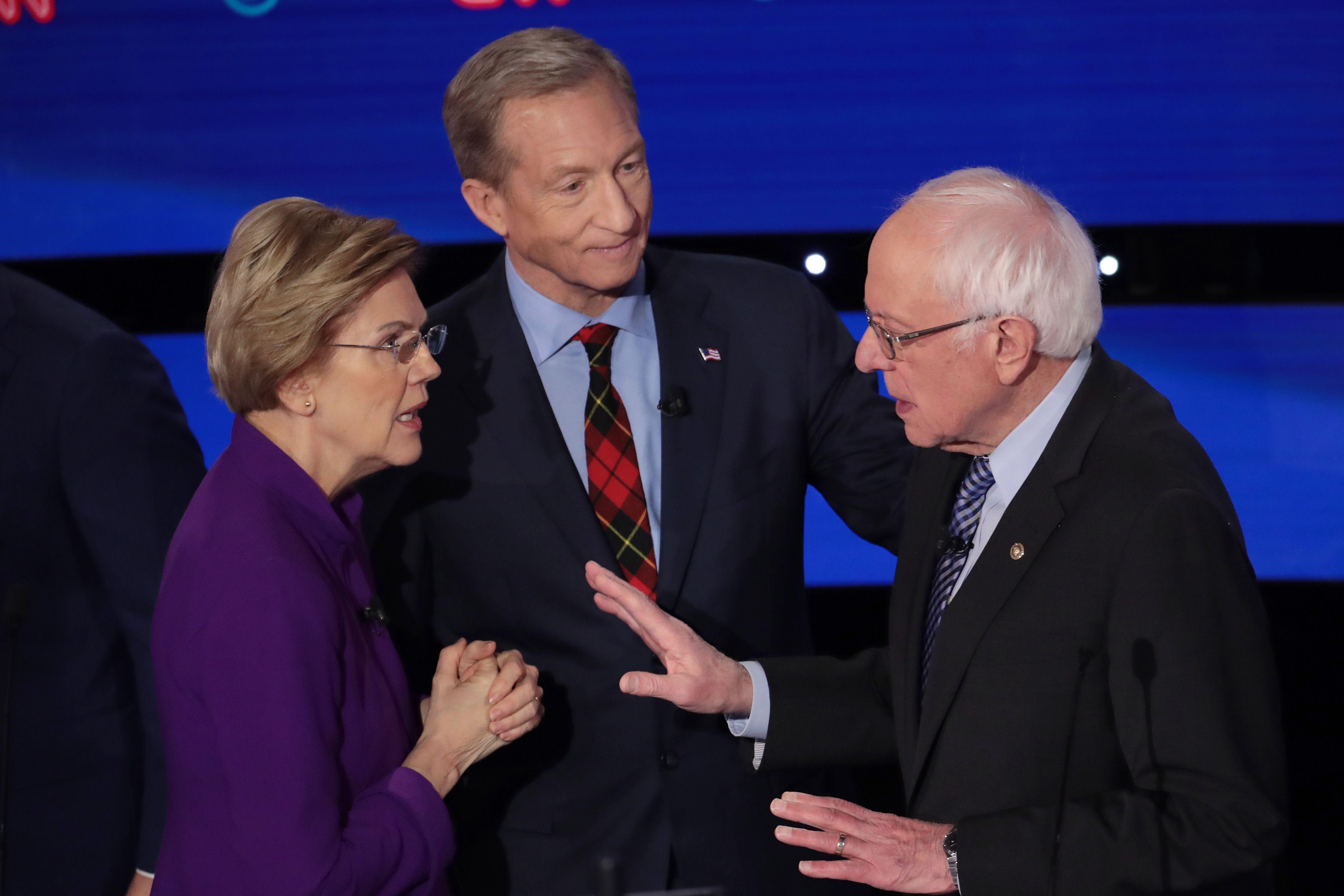The Warren-Sanders Feud Is Not About #MeToo