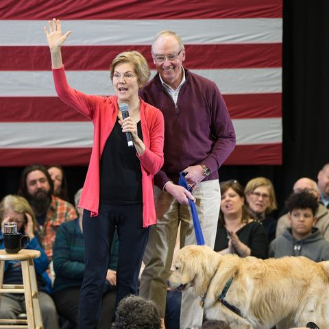 Elizabeth Warren Attends A NH Organizing Event For Her Presidential Campaign