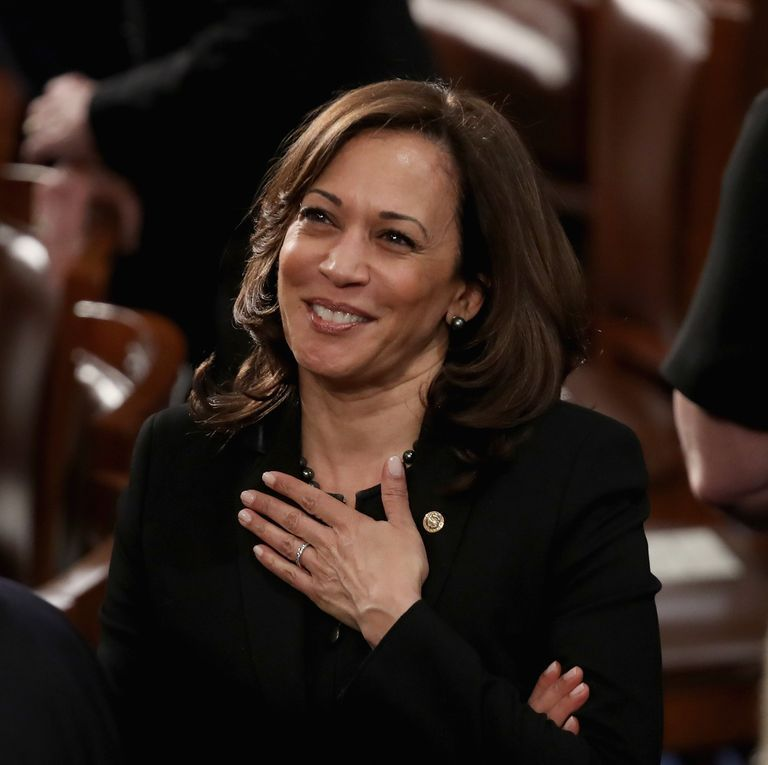 a future to believe in Sen-kamala-harris-greets-fellow-lawmakers-ahead-of-the-news-photo-1094192888-1557432751