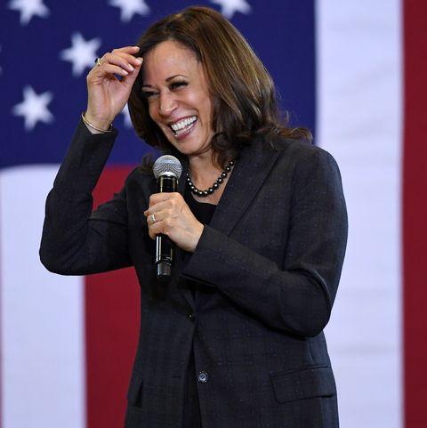 Democratic Presidential Candidate Sen. Kamala Harris Attends Campaign Events In Las Vegas