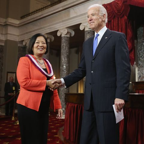vice president biden holds senate ceremonial swearing in