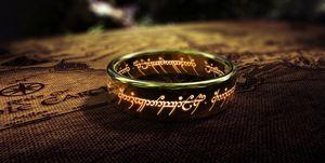 el anilo del señor de los anillos