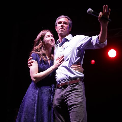 Democratic Candidate Beto O'Rourke Holds Election Night Event In El Paso, Texas