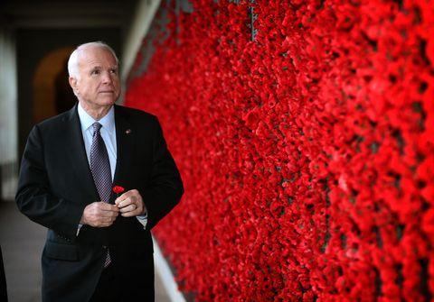 John McCain Visits Australian War Memorial