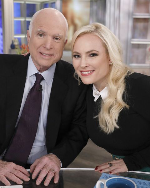 'The View' Co-Host Meghan McCain Shares Screenshot Of Call
