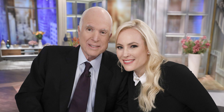 John McCain, Meghan McCain On 'The View'