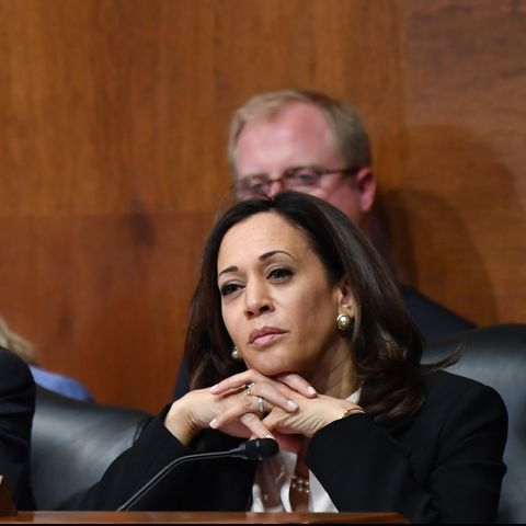 Sen Kamala Harris Questioned Attorney General Bill Barr During A House Judiciary Committee Hearing