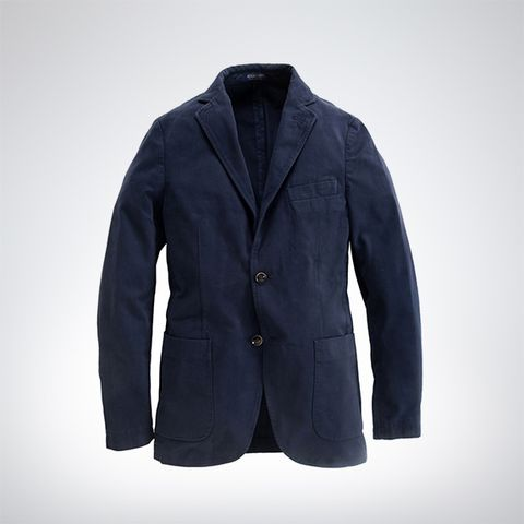 Clothing, Blue, Coat, Sleeve, Collar, Textile, Outerwear, Jacket, Blazer, Electric blue,