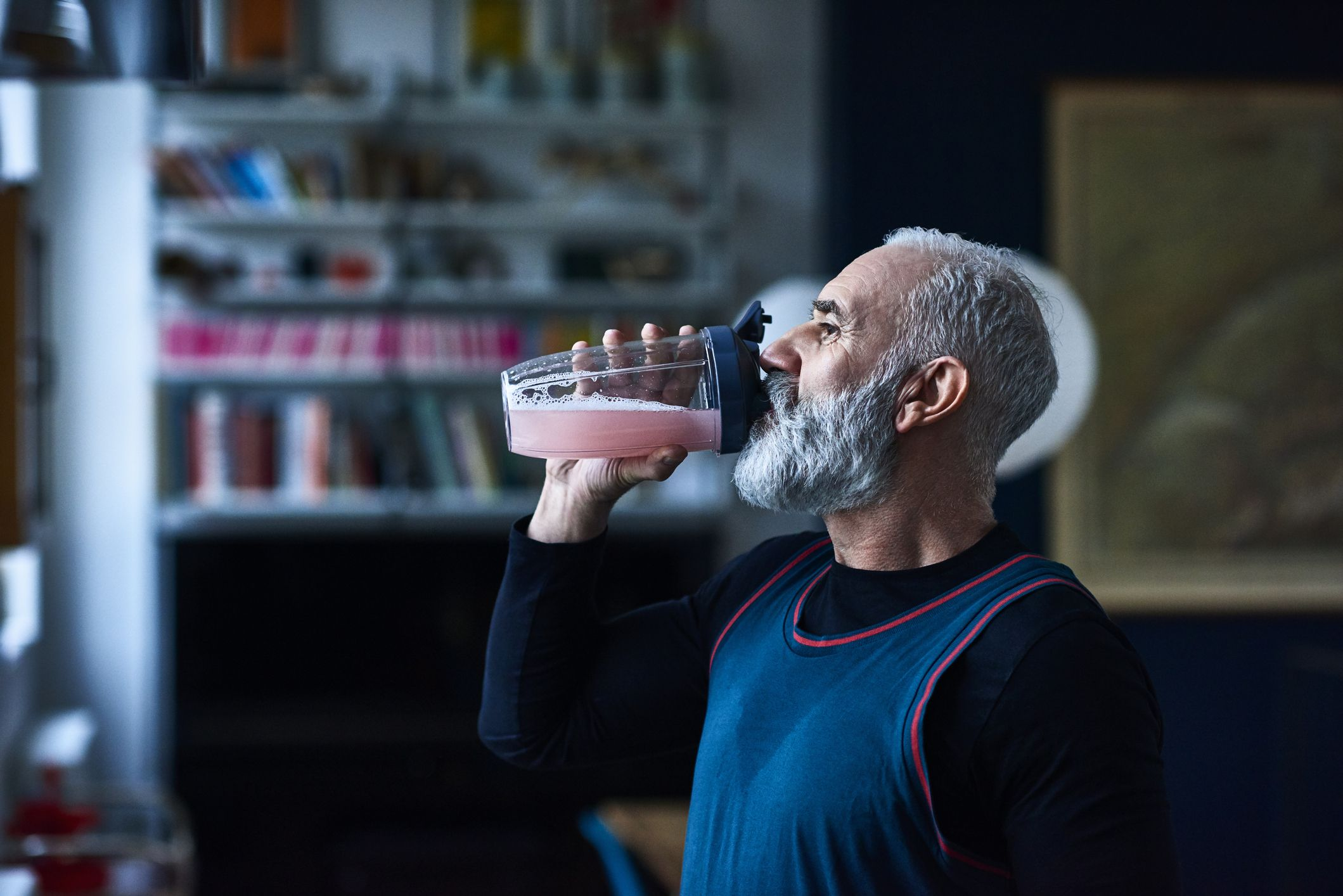 drinking shakes instead of eating may be why you're always hungry.