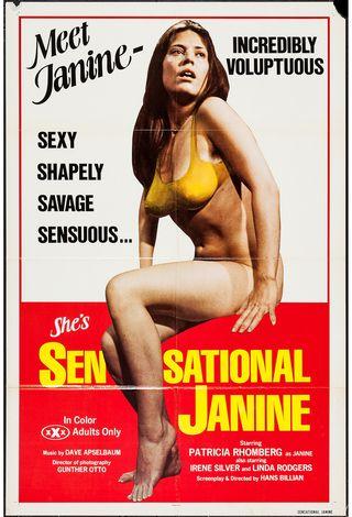 sensational janine poster
