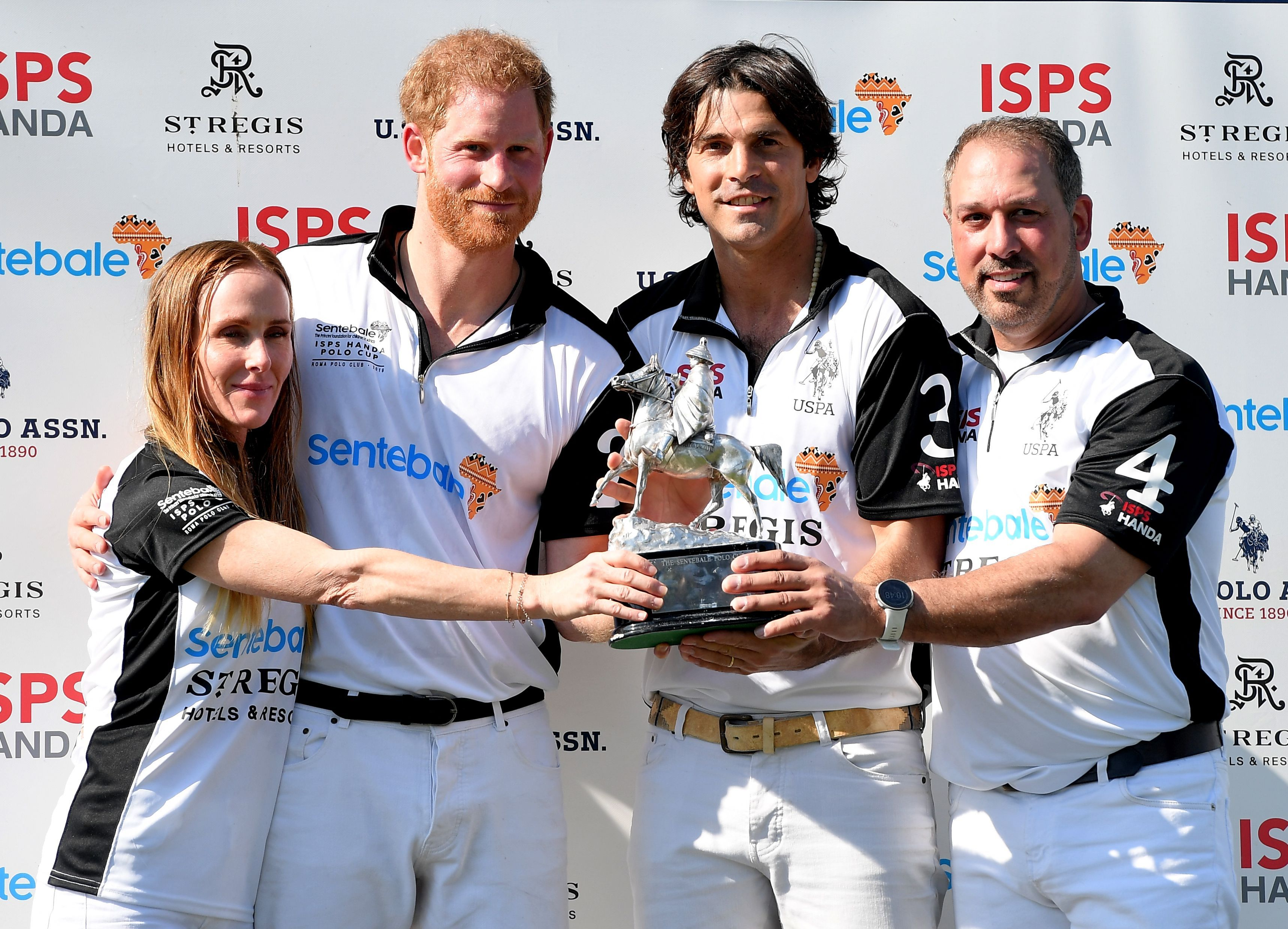 ITALY-ROYALS-POLO-CHARITY