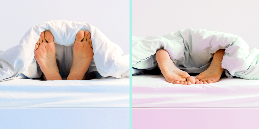 Using Two Separate Duvets Could Save Your Relationship, According to Sleep Doctors