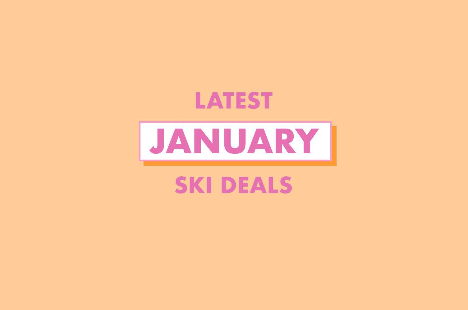Cheap January ski holidays