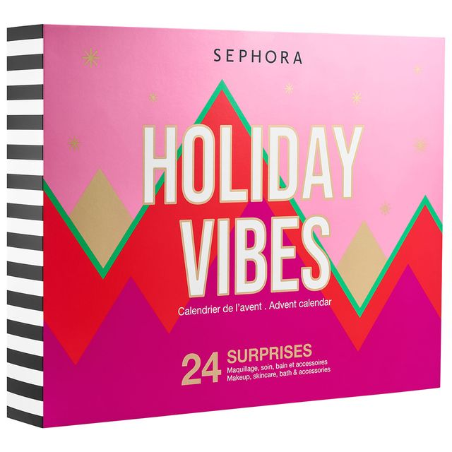 sephora collection holiday vibes 2021 beauty advent calendar