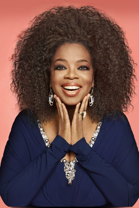 Oprah on the cover of Oprah Magazine September 2012