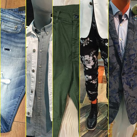 Clothing, Collar, Dress shirt, Textile, Denim, Style, Tie, Fashion, Pattern, Pocket,