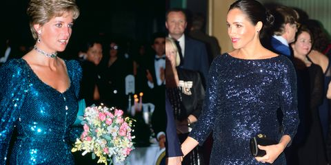 meghan markle dress like princess diana