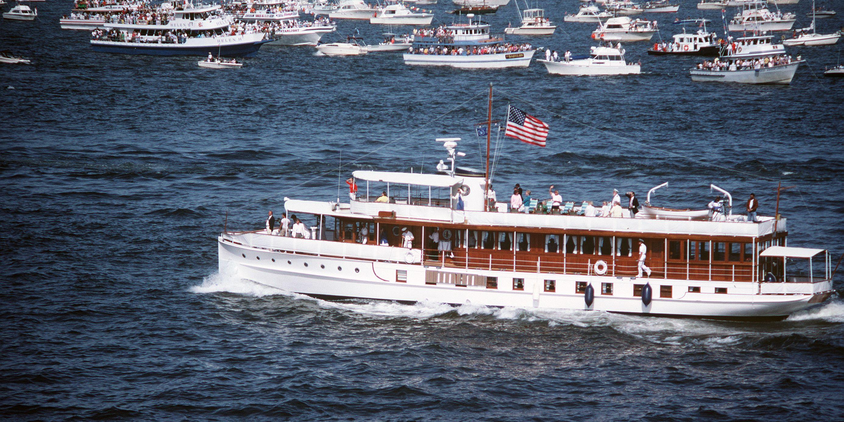 USS Sequoia Presidential yacht