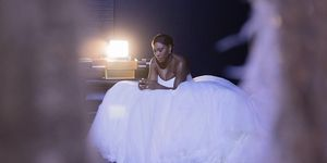 Serena Williams wedding dress