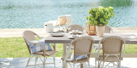 Furniture, Chair, Table, Outdoor table, Outdoor furniture, Folding chair, Coffee table, Room, Patio, Wicker,