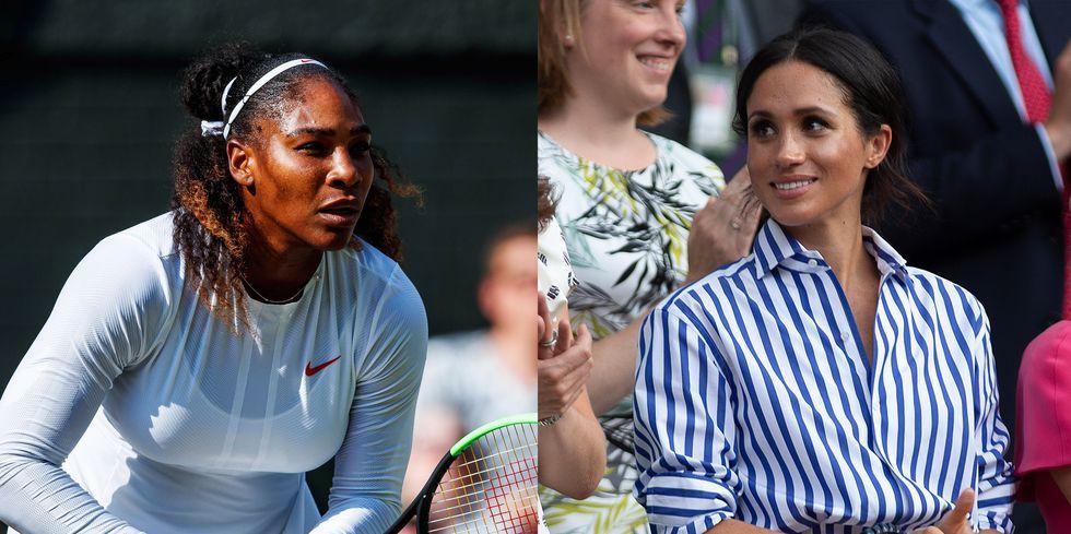 Waduh! Meghan Markle Menangis Pada Pidato Serena William, Mengapa?