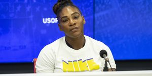 Serena Williams press conference at US Open Tennis