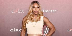 Serena Williams is blond