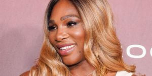 Serena Williams attends Sports Illustrated Fashionable 50