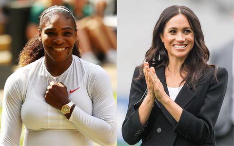 Duchess of Sussex, Serena Williams