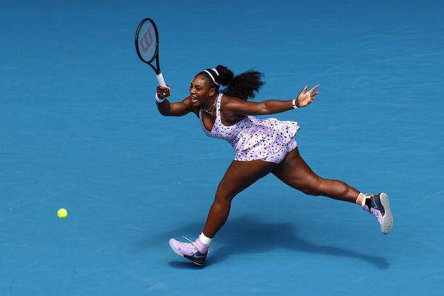serena williams how much do tennis players run