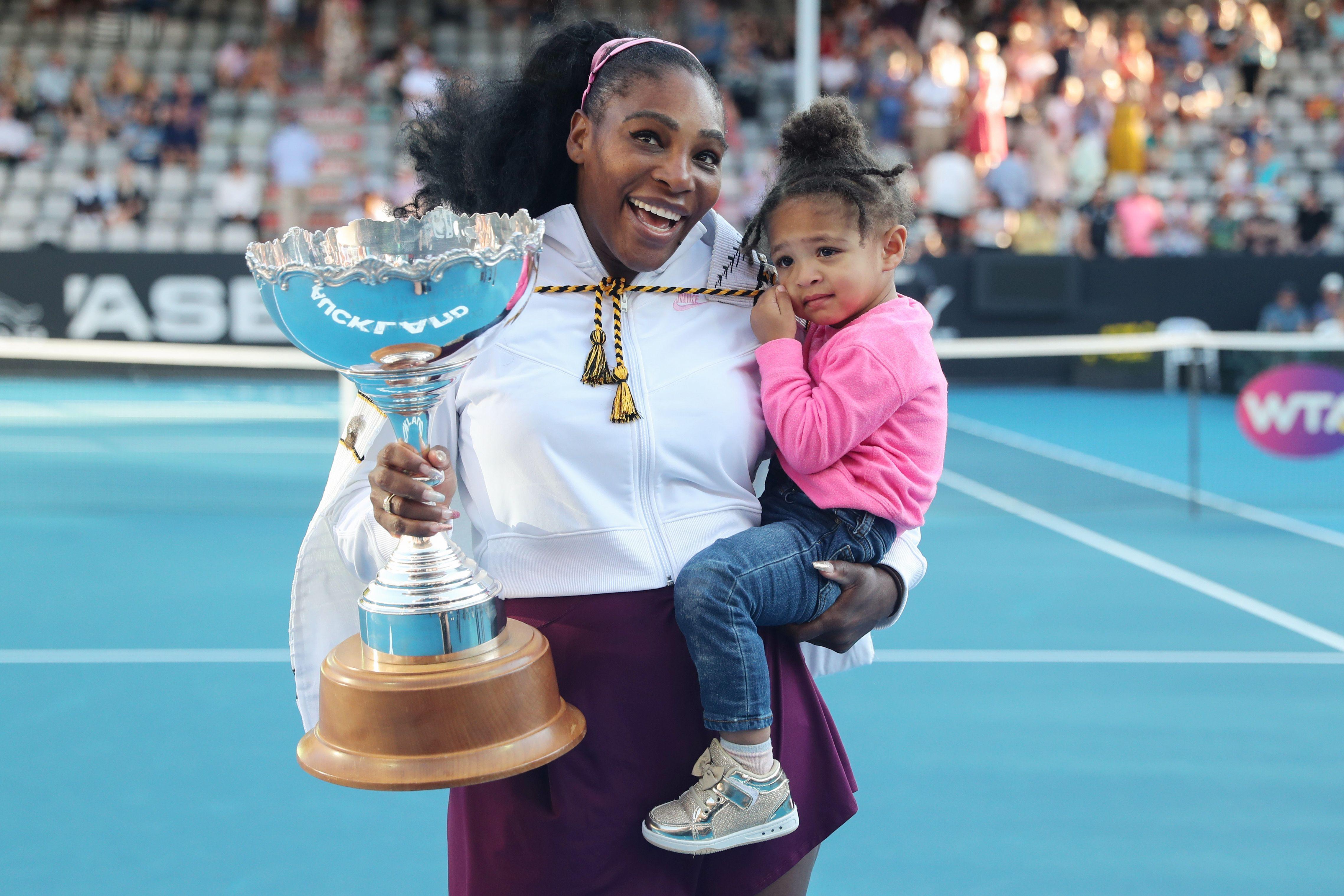 Serena Williams & her Daughter - SportzPoint
