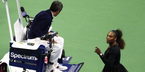 Serena Williams opinie emancipatie us open
