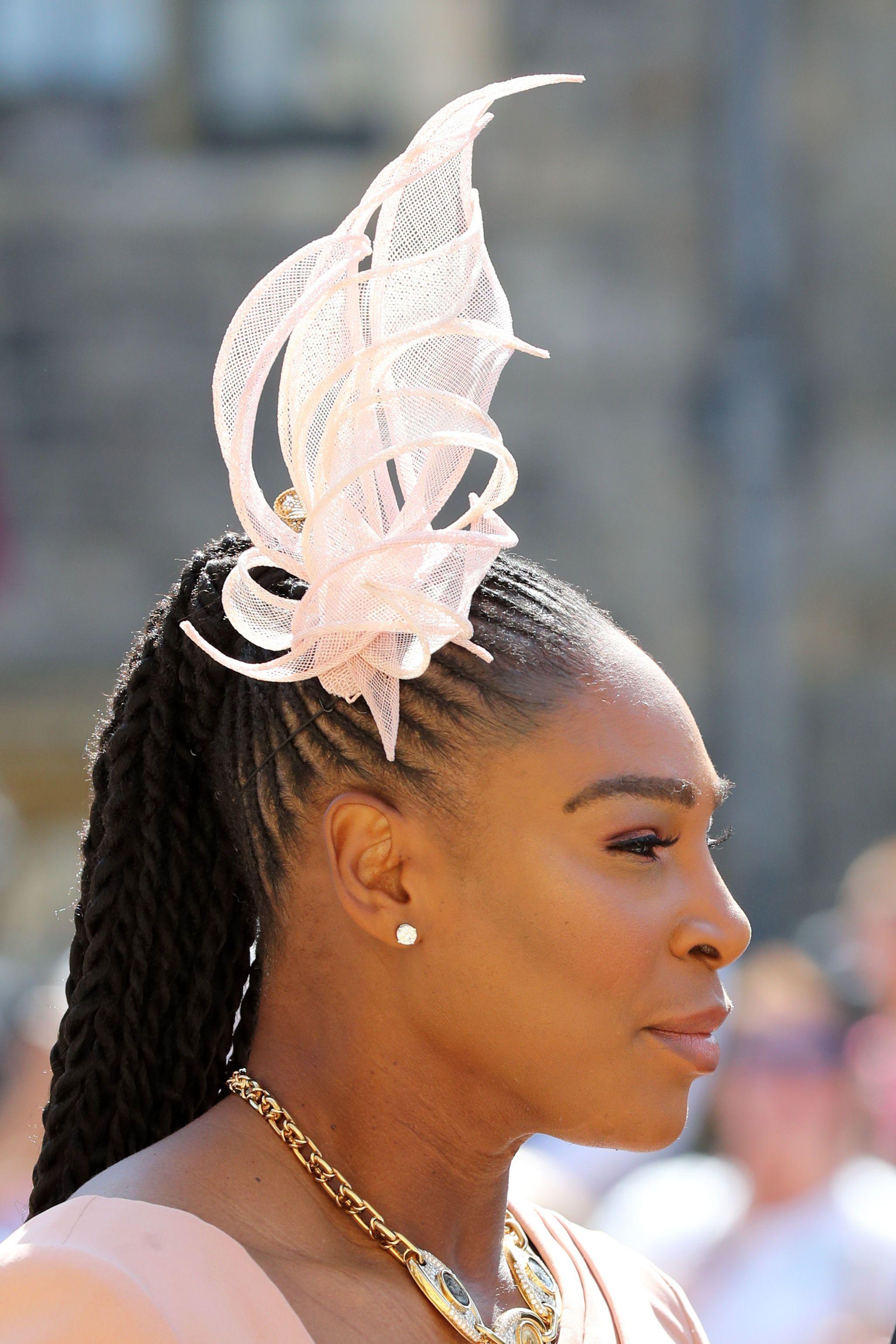 Royal Wedding Fascinators — Hats and Hatinators at Meghan and Harrys  Ceremony 03118ec764a