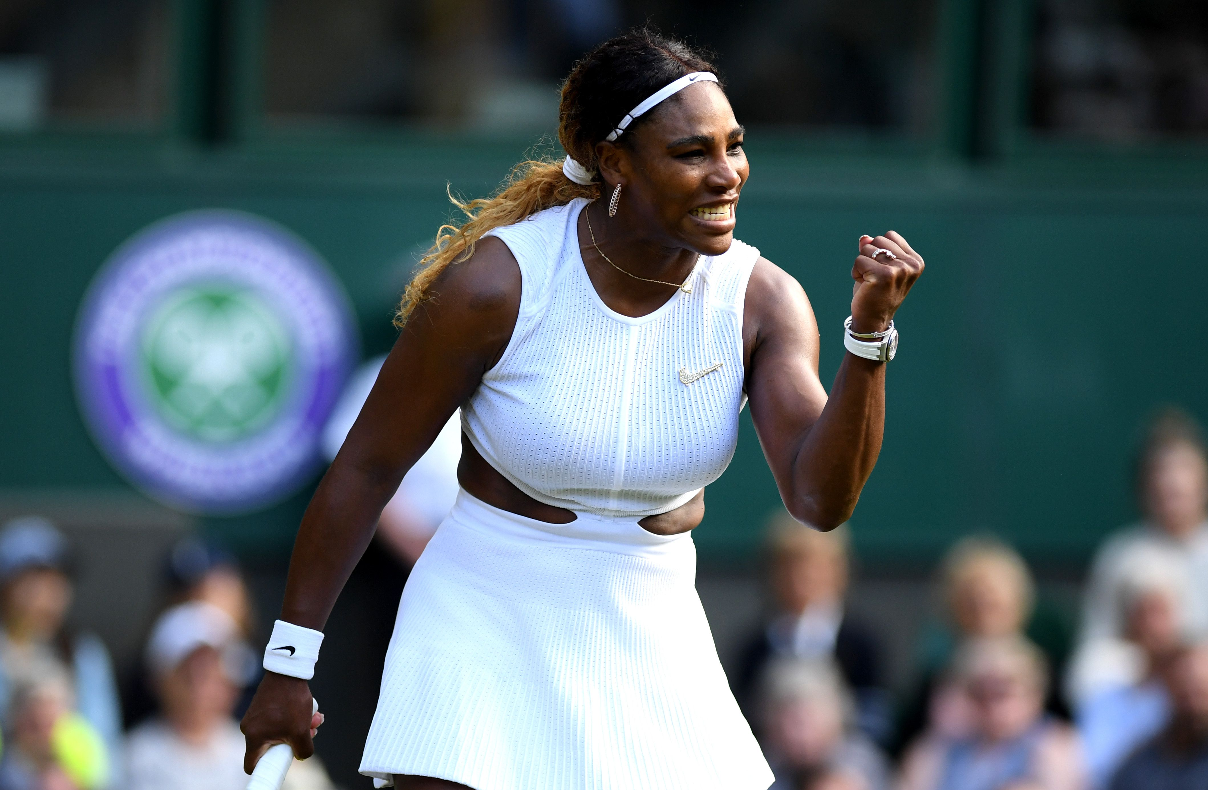 Serena Williams' Wimbledon outfit has a very interesting detail nobody noticed