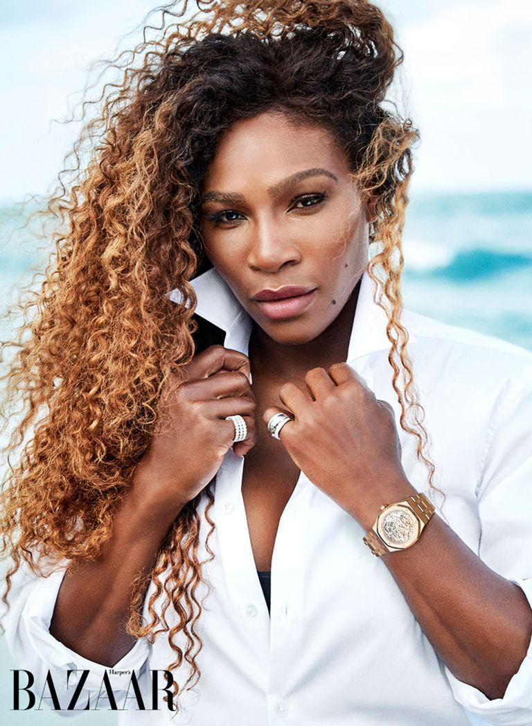 Serena Williams Harper's Bazaar July issue cover