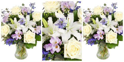 Serenata Flowers - January Blues bouquet